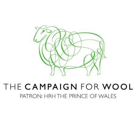 Die Beflockung aus 100 % britischer Wolle...