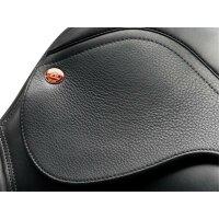 Kent&Masters-Sattel S-Serie Dressur Low Profile, veränderbare Pauschen