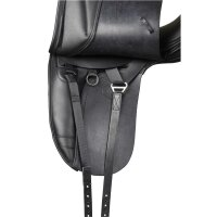 Kent&Masters-Sattel S-Serie Dressur Low Profile, mit Außenpauschen