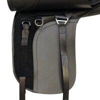 Kent&Masters-Sattel S-Serie Dressur, Standard Wither, veränderbare Pauschen