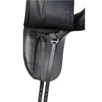 Kent&Masters-Sattel S-Serie Dressur, Standard Wither, mit Außenpauschen